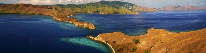 Indonesia Padar islands view
