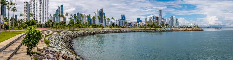 Panama city buildings