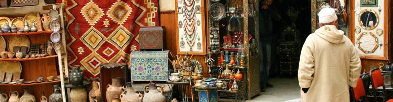 Bazaar, Marrakech, Morocco