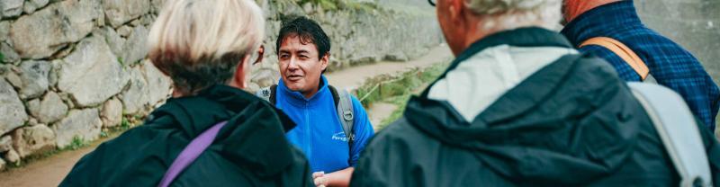 Local leader Luis, Machu Picchu, Peru