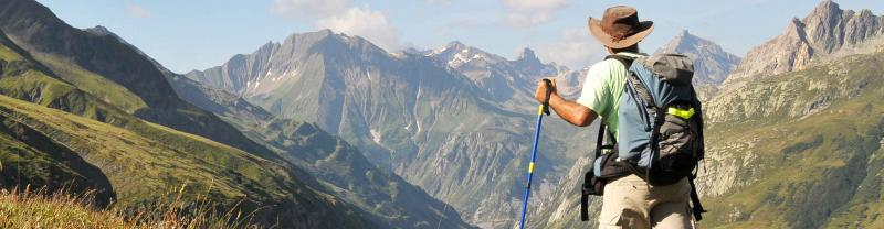 Walking the alps