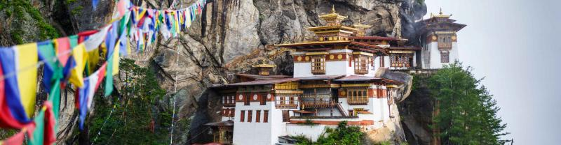 Taktsang Monastry in Bhutan