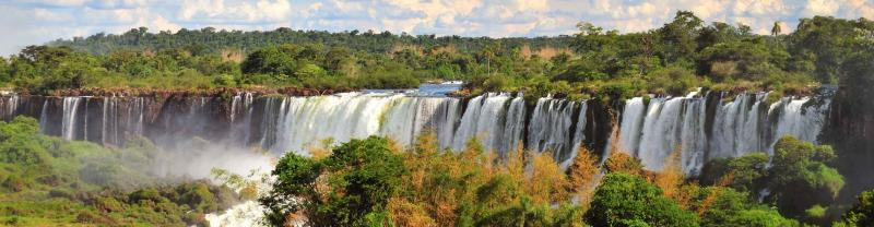 The Iguaza Falls in Argentina