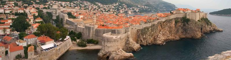 Croatia tours in old Dubrovnik town
