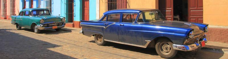 cuban cars in Havana, Cuba