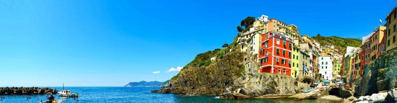 Cinque Terre on Italy's western coast