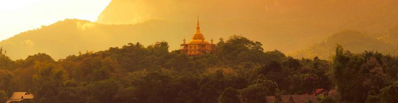 prabang temple in Laos