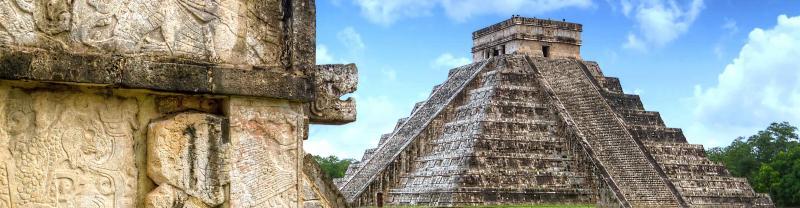 Chichen Itza ruins in Mexico