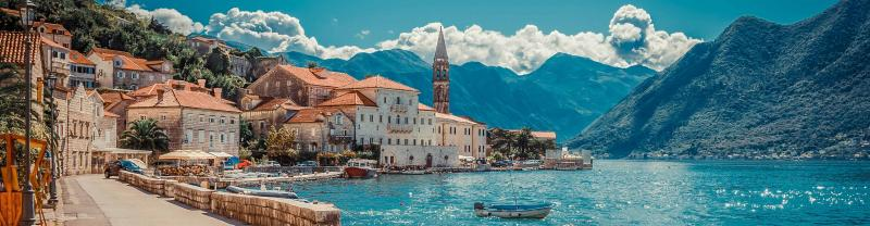 The Bay of Koto in Montenegro
