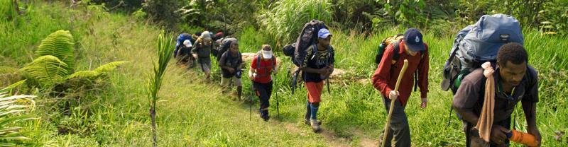 Papua New Guinea Kokoda Trek Trail