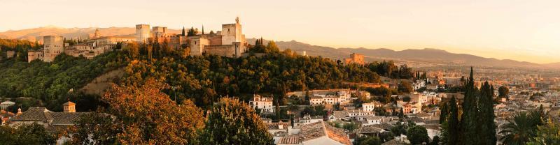 Spain Granada Sunset