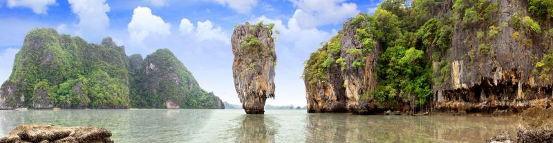 Phang Nga Bay Marine National Park in Thailand