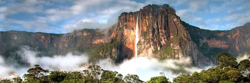 Salto Angel waterfalls, Venezuela