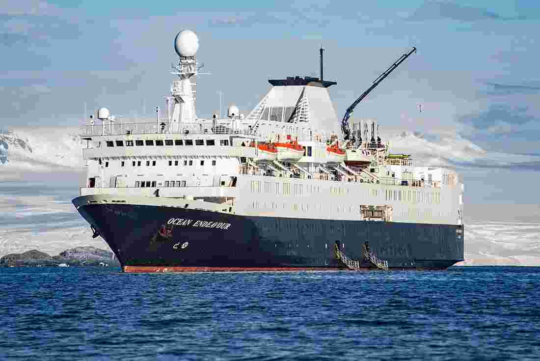 Your Antarctic ship - The Ocean Endeavour