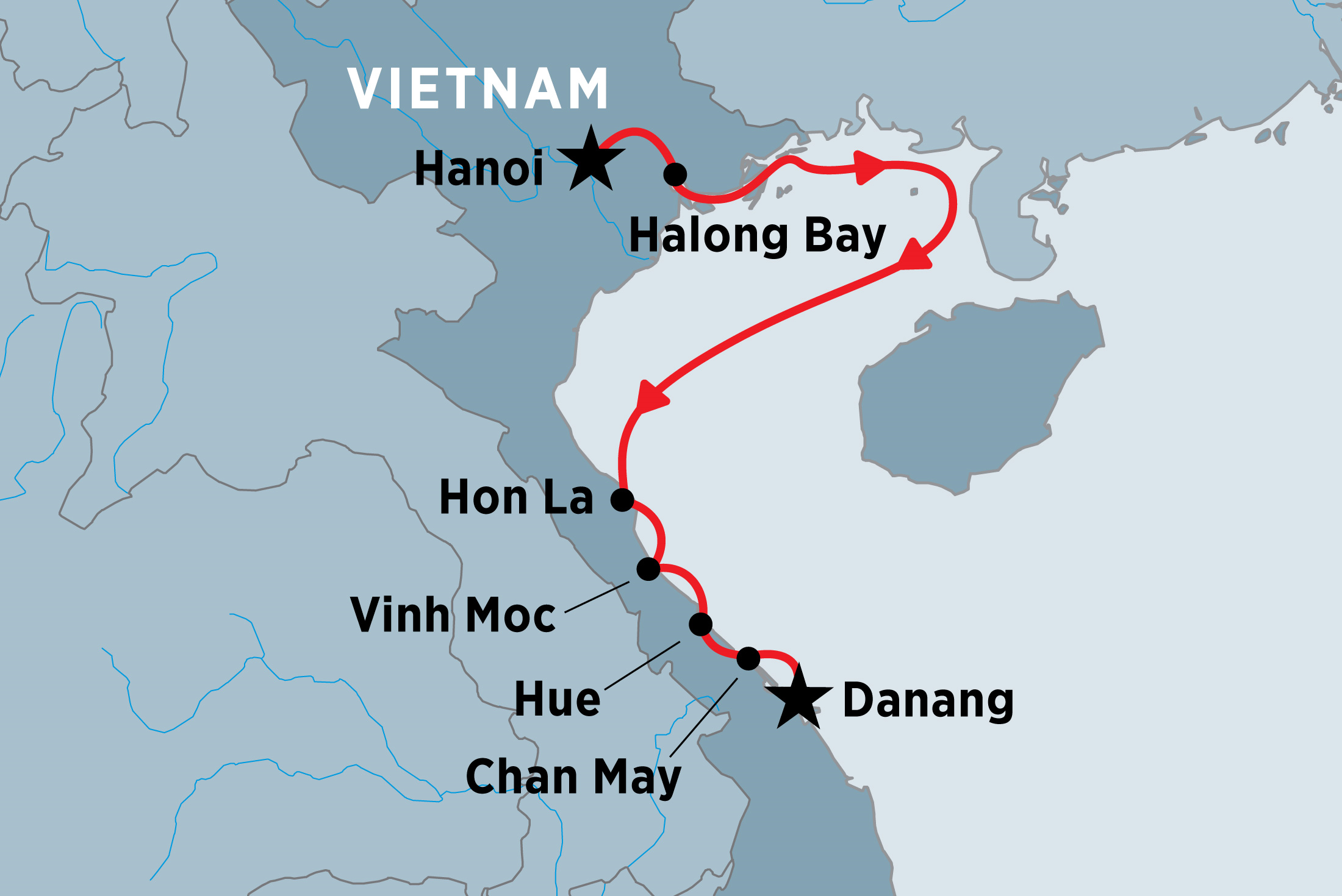 North Vietnam Coastal Cruising: Hanoi to Danang | Peregrine ...