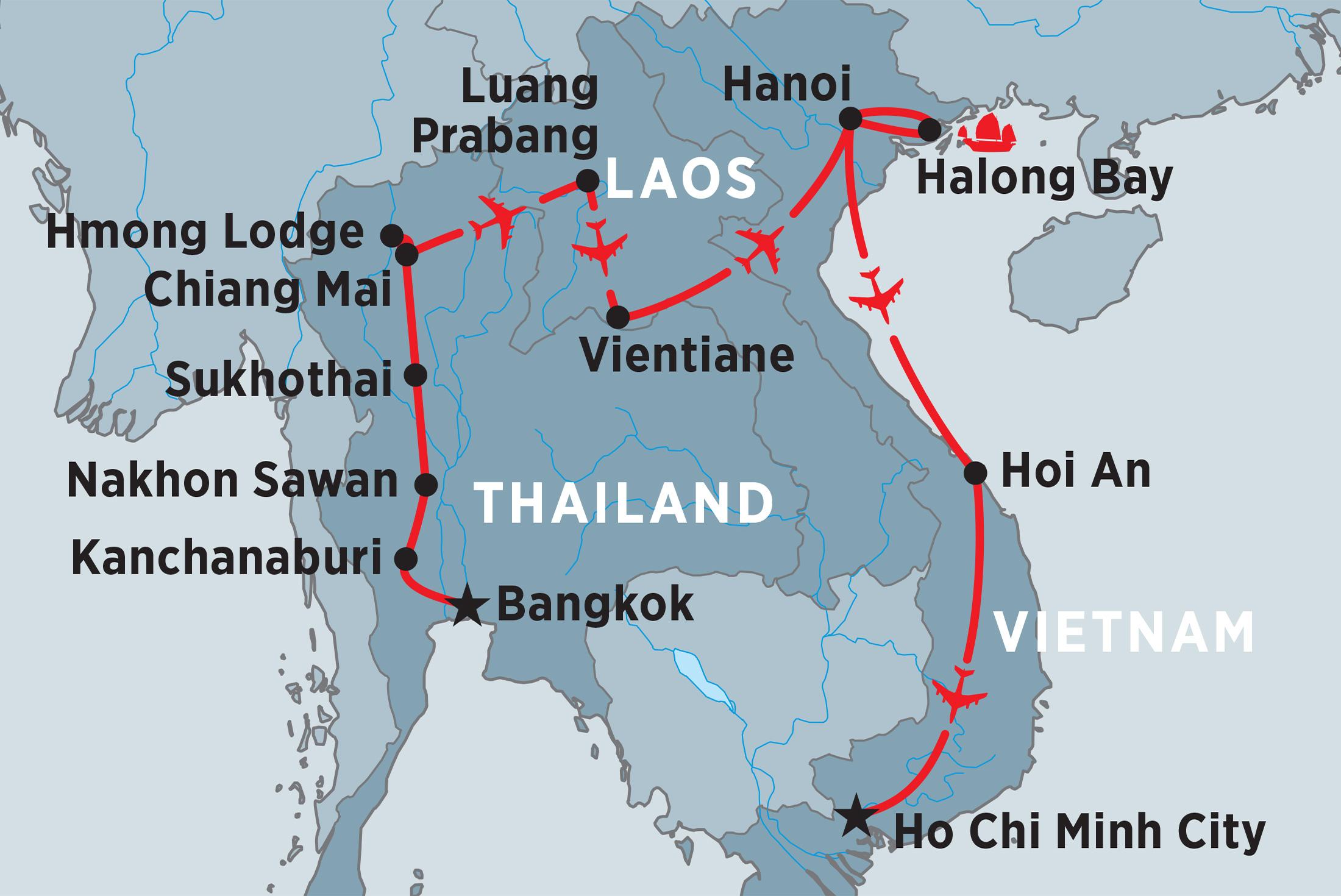 Premium Thailand Tours & Trips 2017/18 - Peregrine Adventures AU
