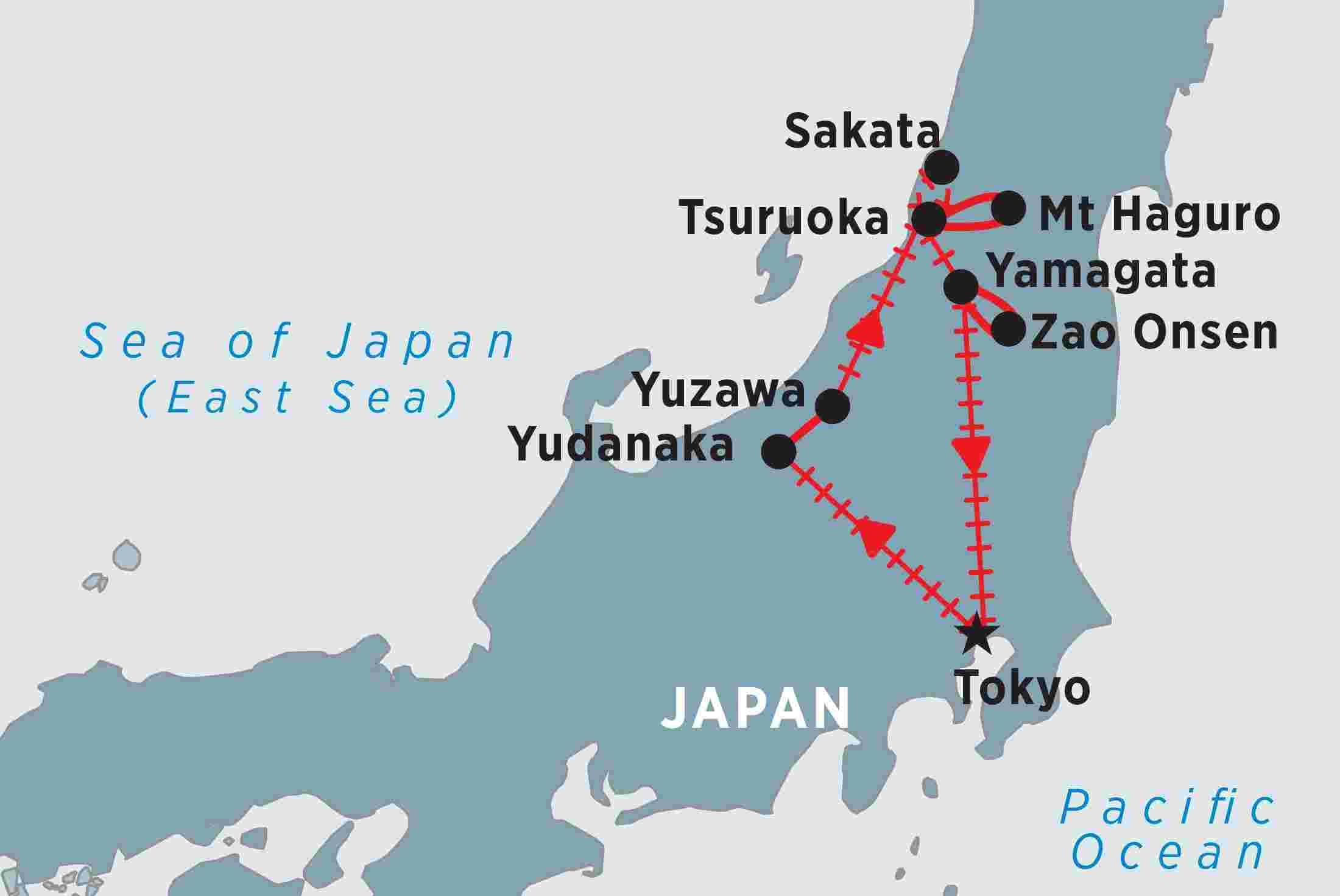 Wonders Of Winter Japan Japan Tours Peregrine Adventures - Japan map yamagata