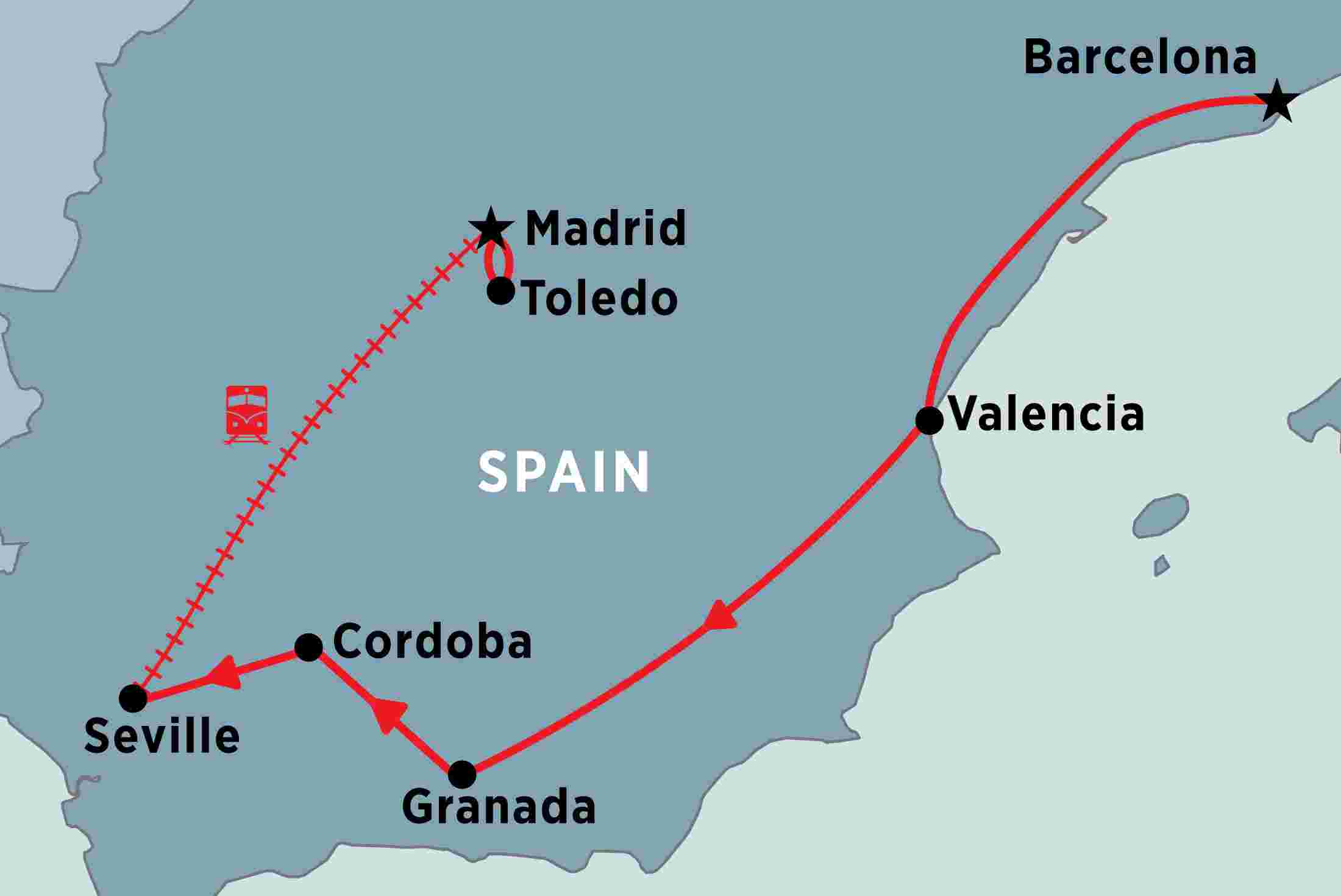 Travel Map Of Spain.Spain Tours Travel Trips Peregrine Adventures
