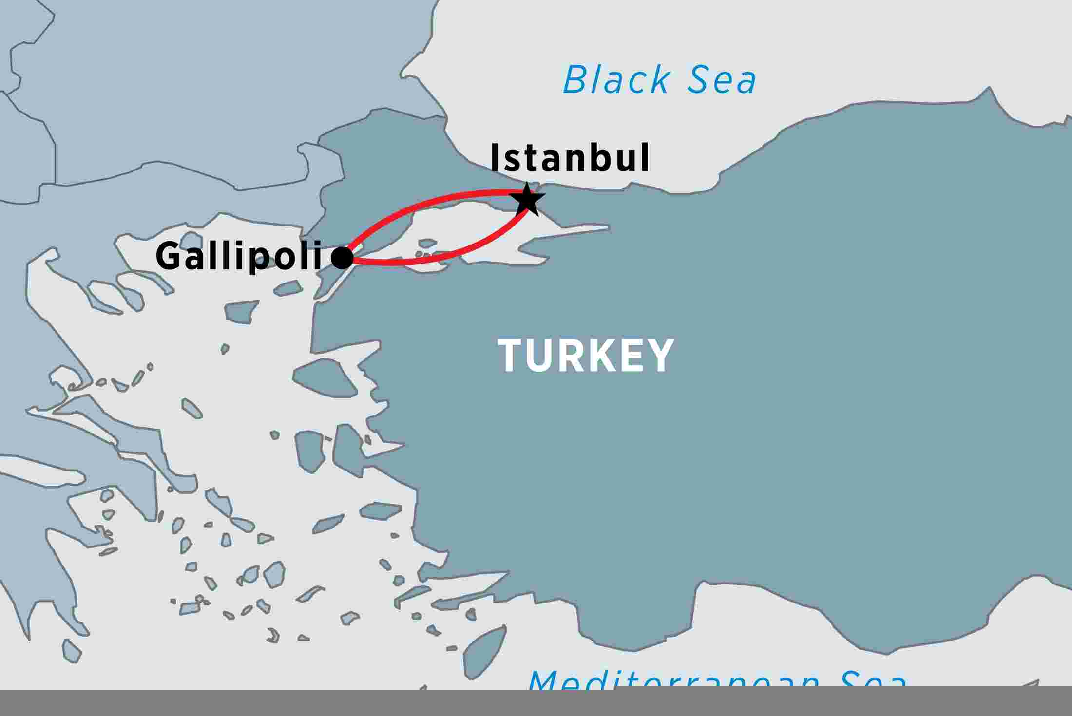 Map Of Gallipoli Istanbul & Gallipoli Battlefields Experience   Independent