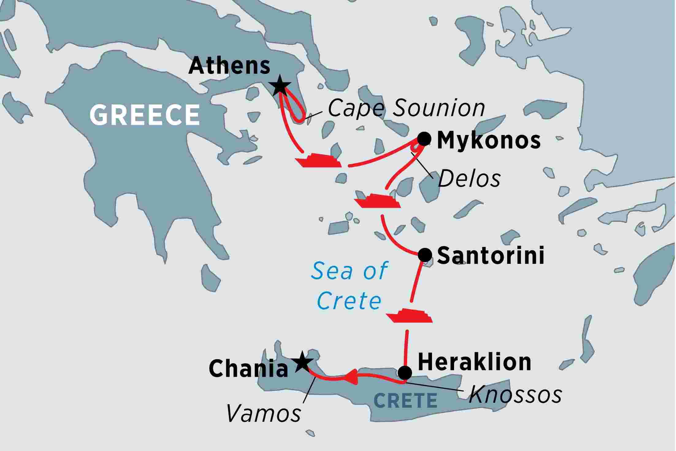 Greek Island Odyssey Overview Greek Island Odyssey
