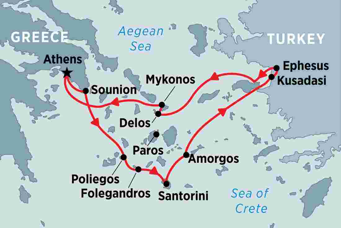 Cruising the Islands of Greece and Turkey overview | Cruising the Islands  of Greece and Turkey