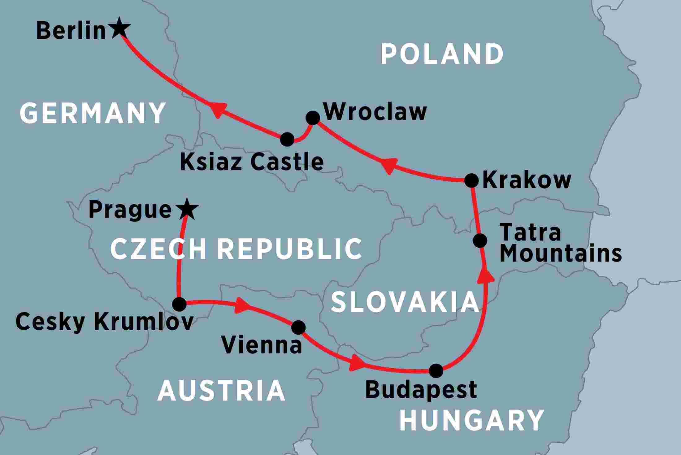 Map Of Germany Poland And Czech Republic.Central Europe Unveiled Overview Central Europe Unveiled