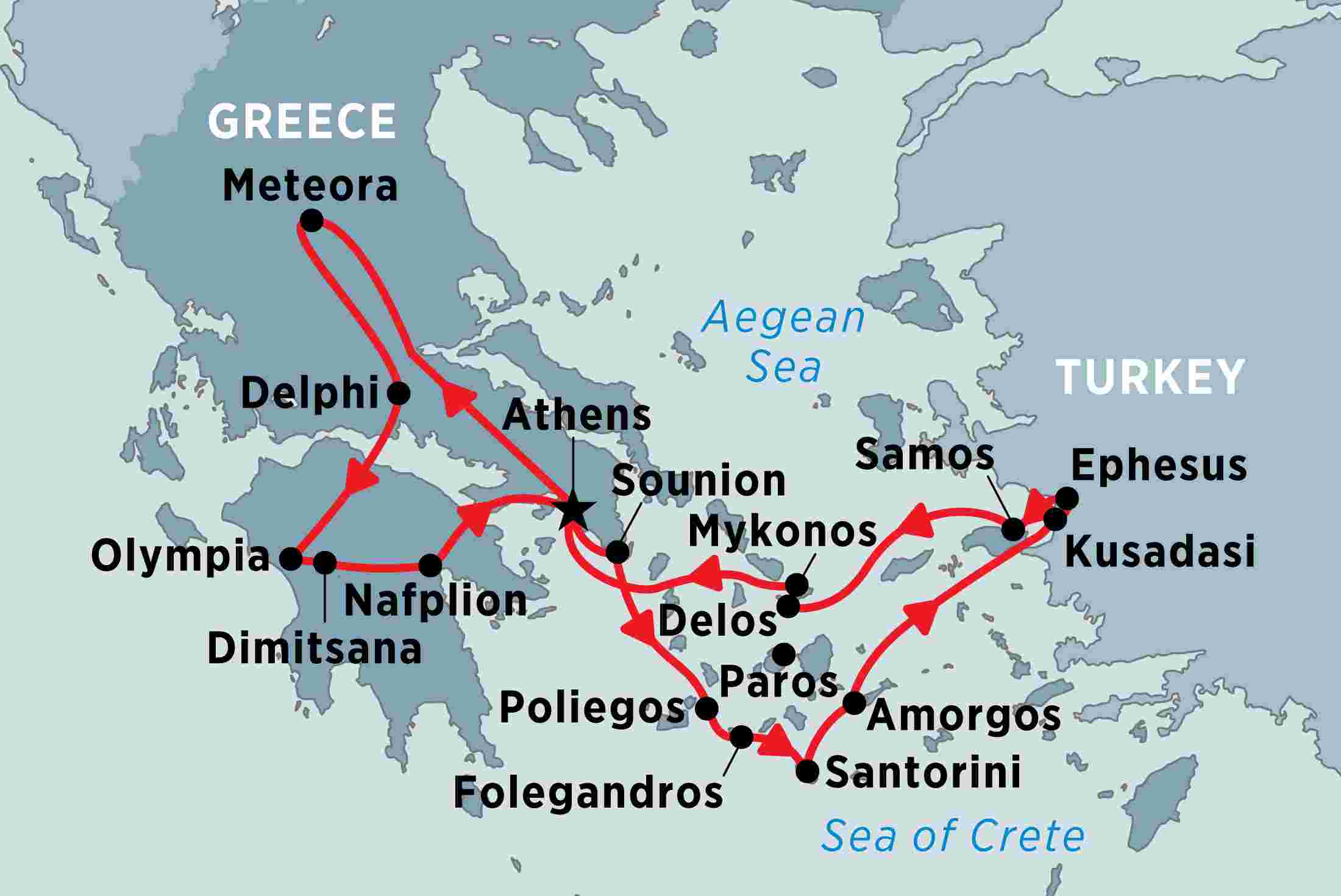 Greece with Turkey by Land and Sea | Peregrine Adventures AU