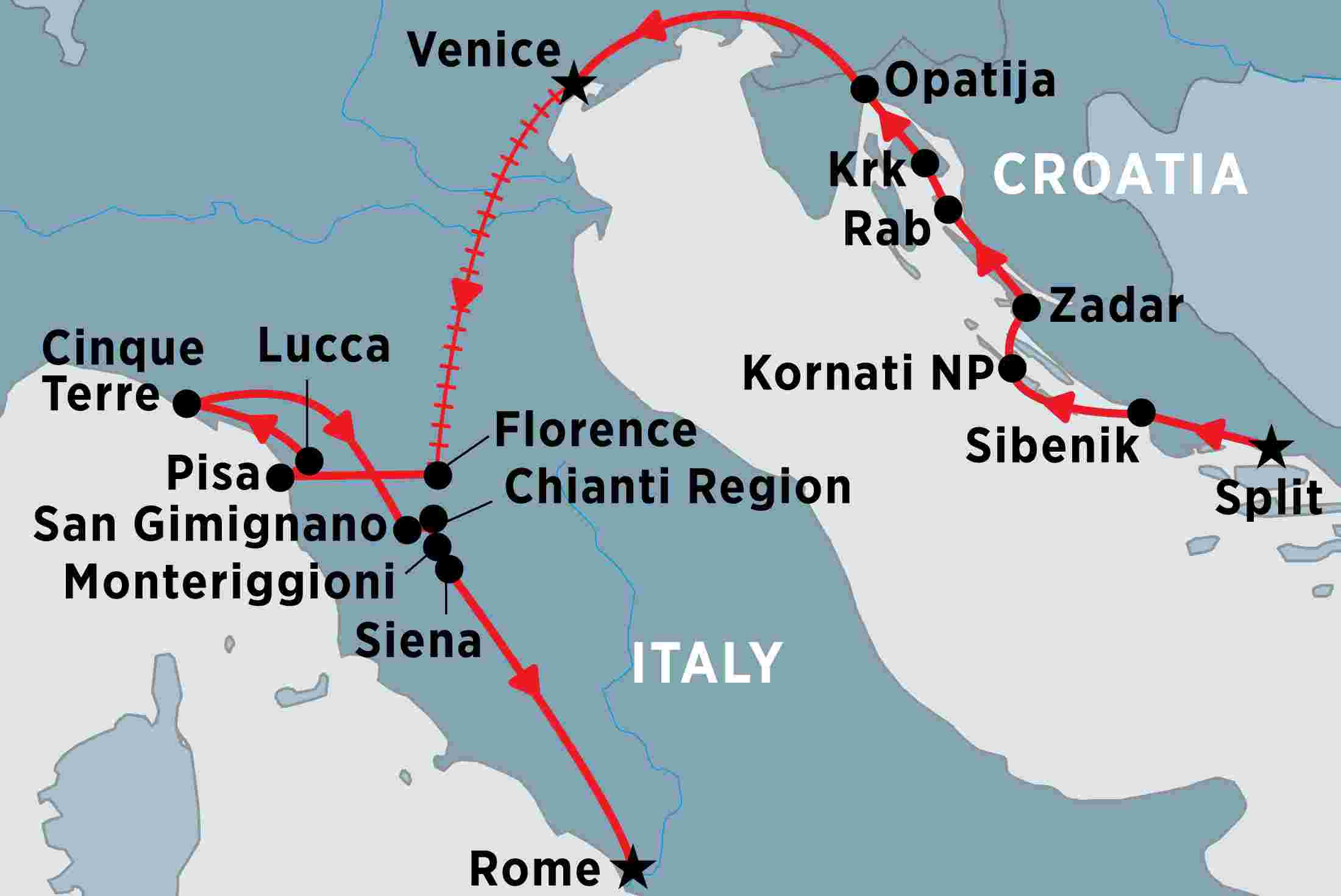Croatia and Italy by Land and Sea | Peregrine Adventures US