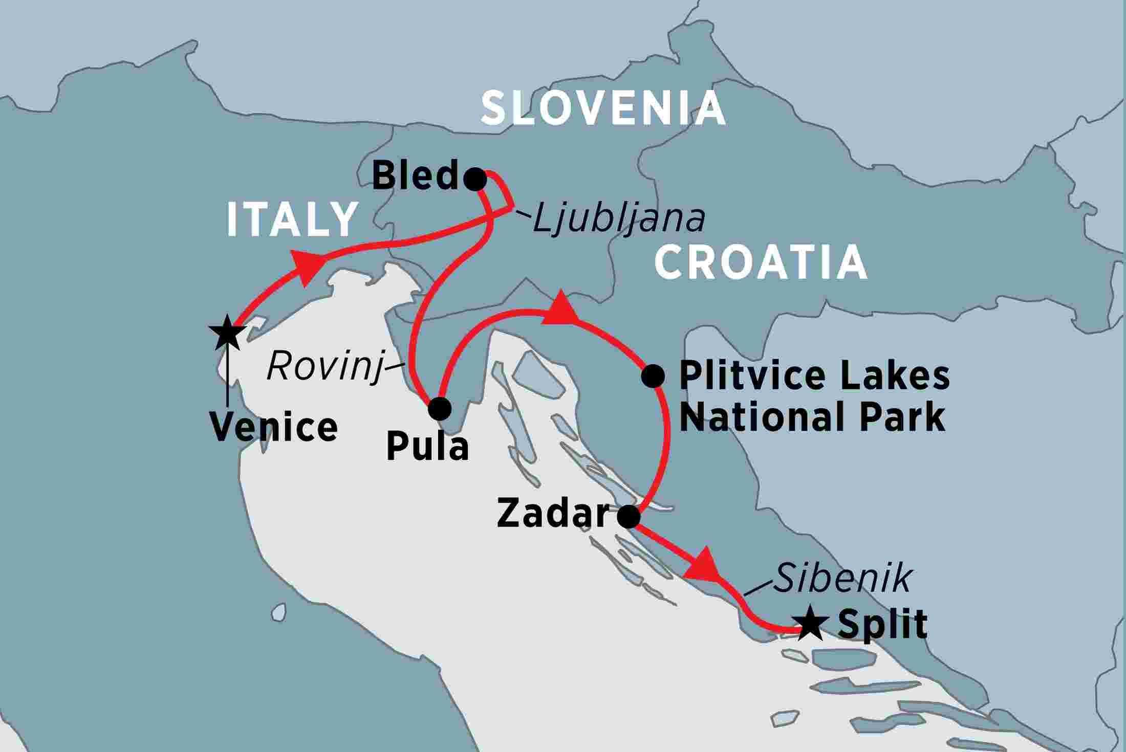 Slovenia & Croatia | Peregrine Adventures US