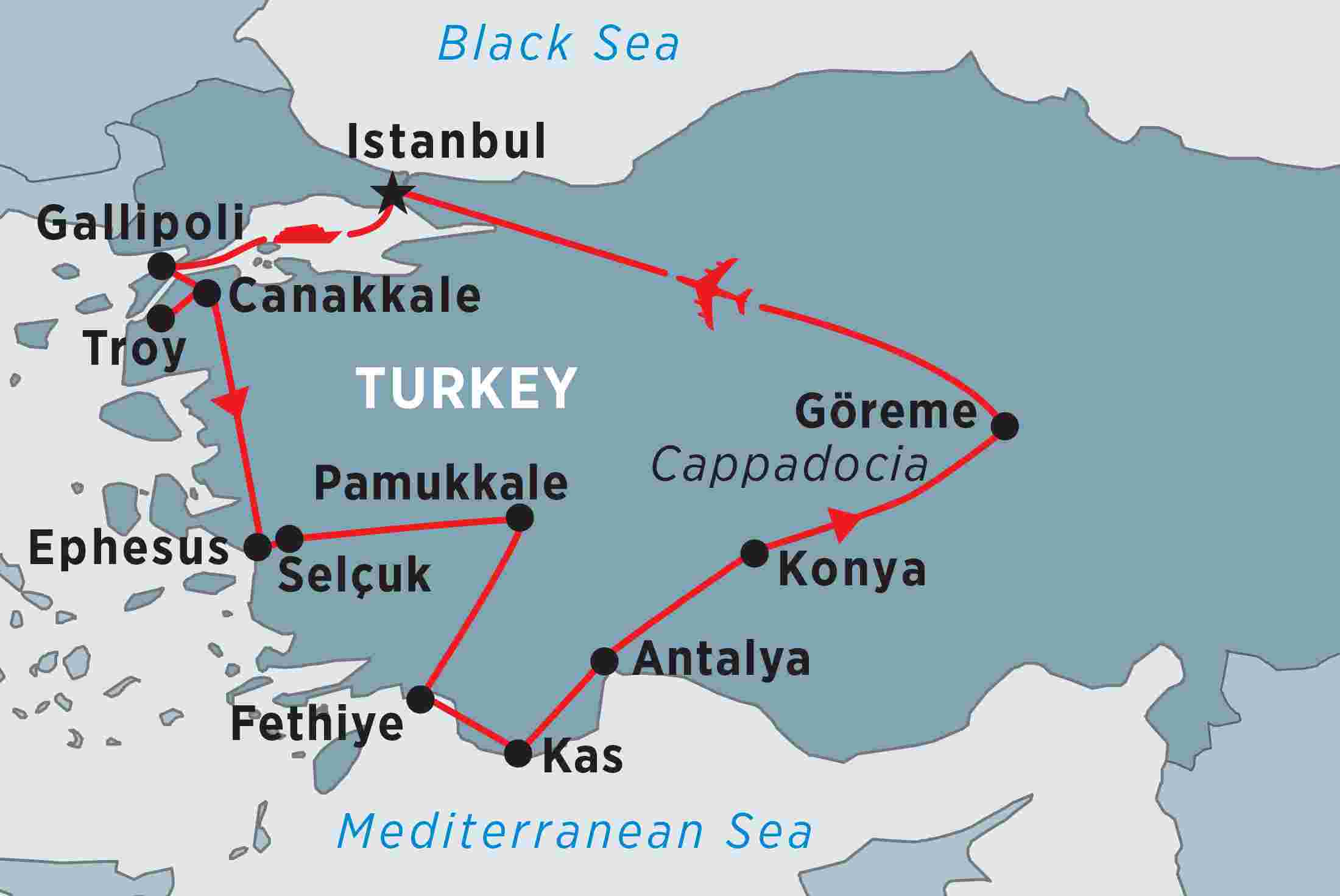 Treasures of turkey overview treasures of turkey en gb map of treasures of turkey including turkey publicscrutiny Choice Image