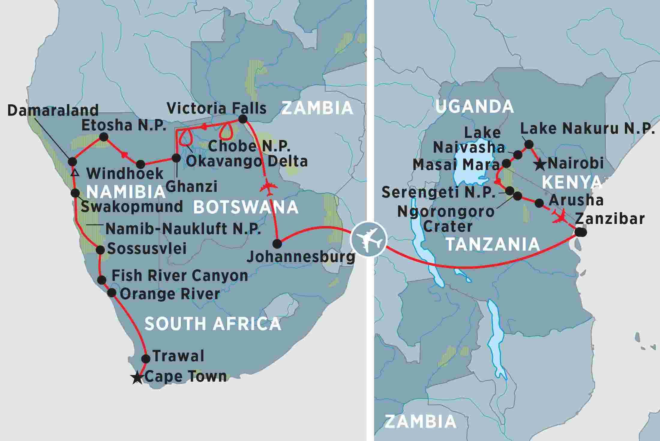 Namibia Tours, Travel & Trips | Peregrine Adventures US