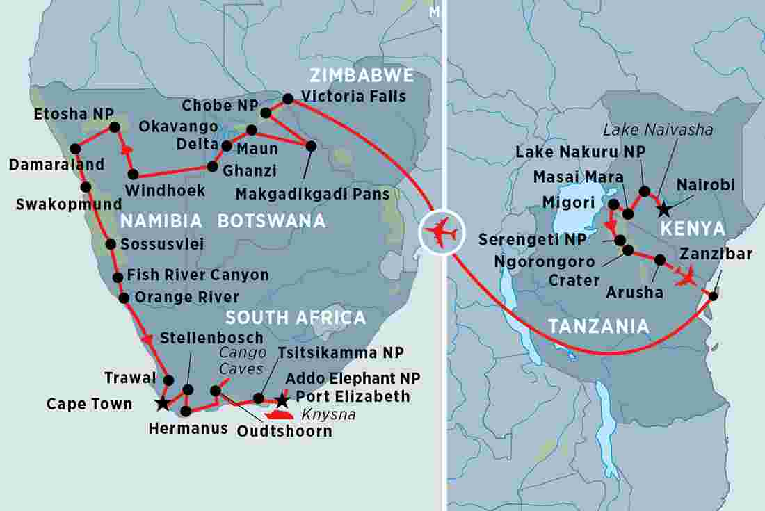 120b84ae69 Embark on the adventure of a lifetime – East Africa and Southern Africa in  one immersive, epic journey