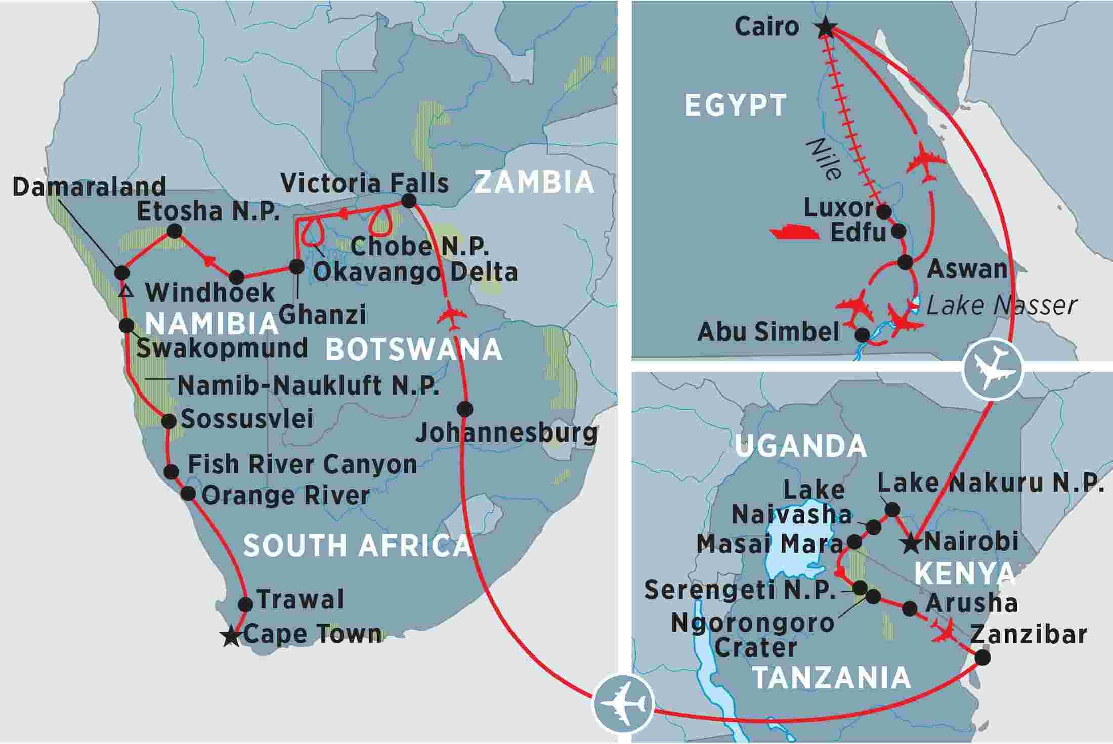 Namibia Tours, Travel & Trips | Peregrine Adventures