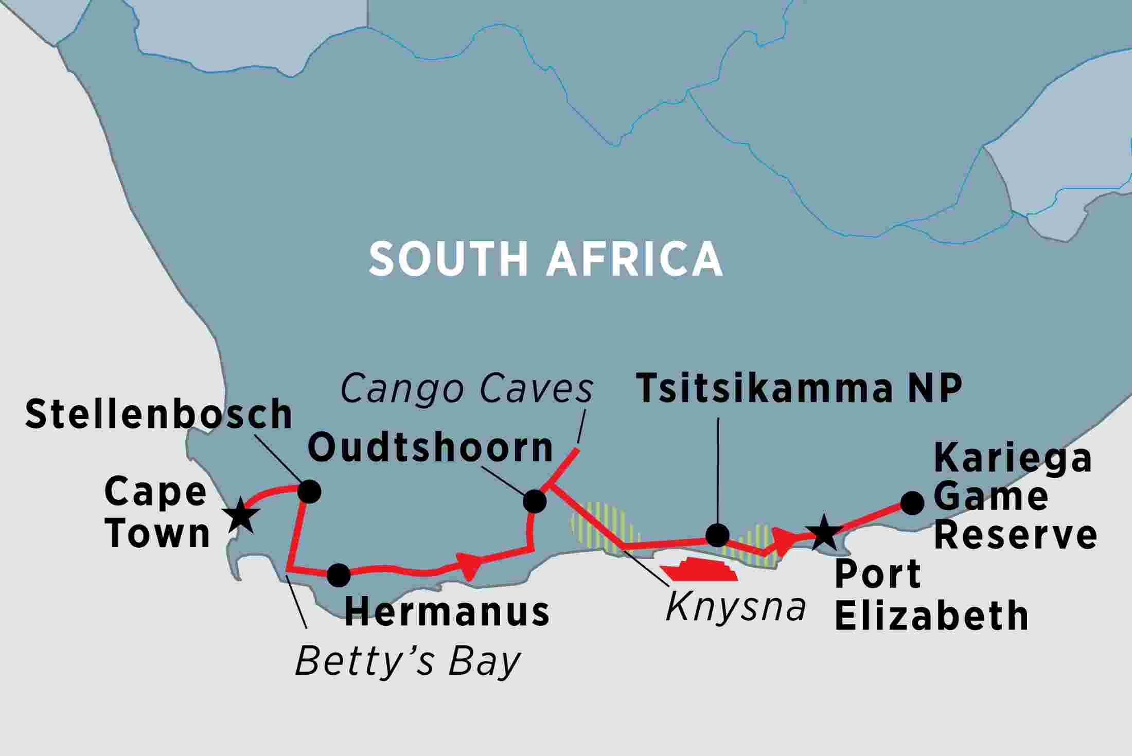 South Africa S Garden Route Peregrine Adventures Au