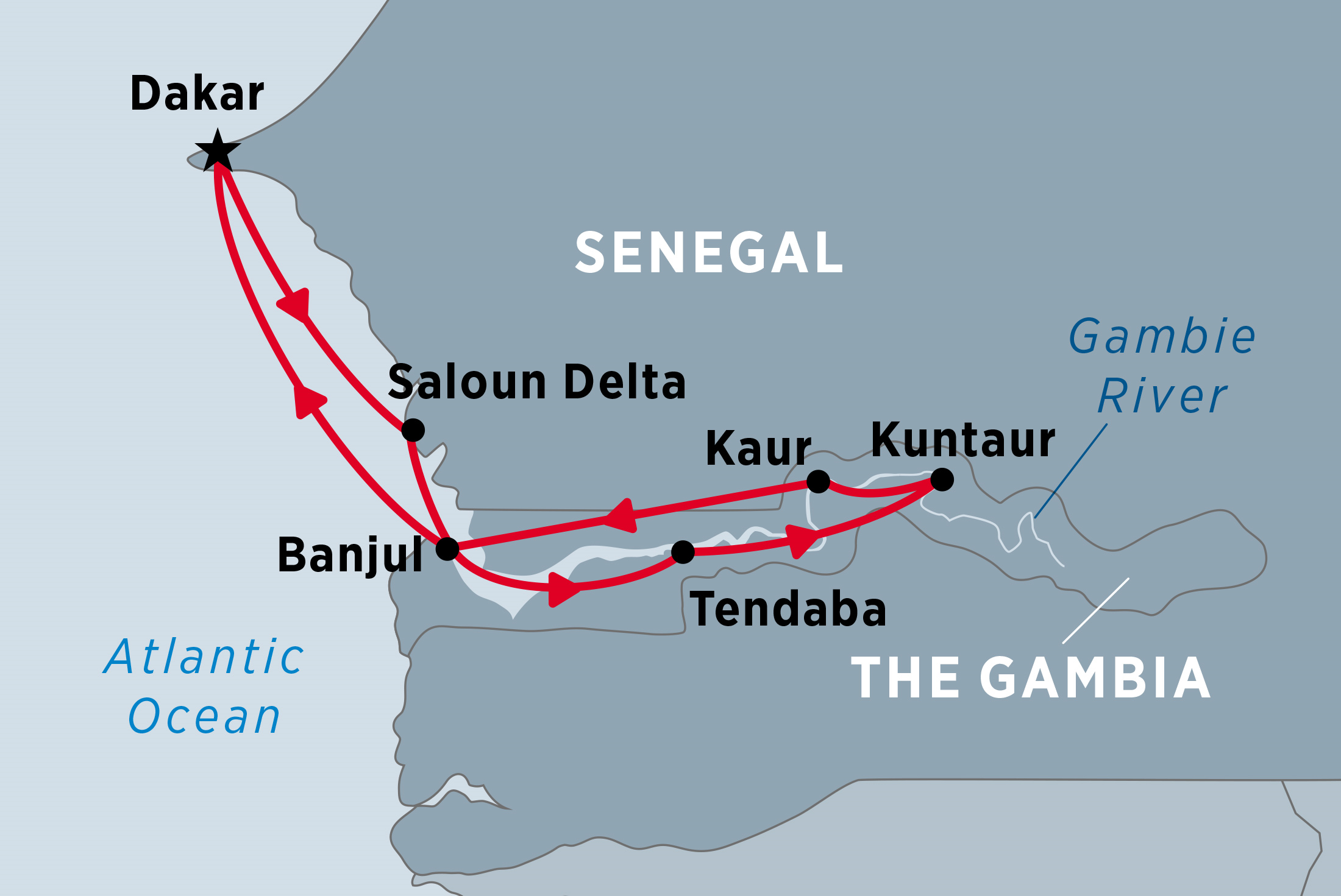 Cruising the Rivers of West Africa (Ex Dakar) | Peregrine Adventures on
