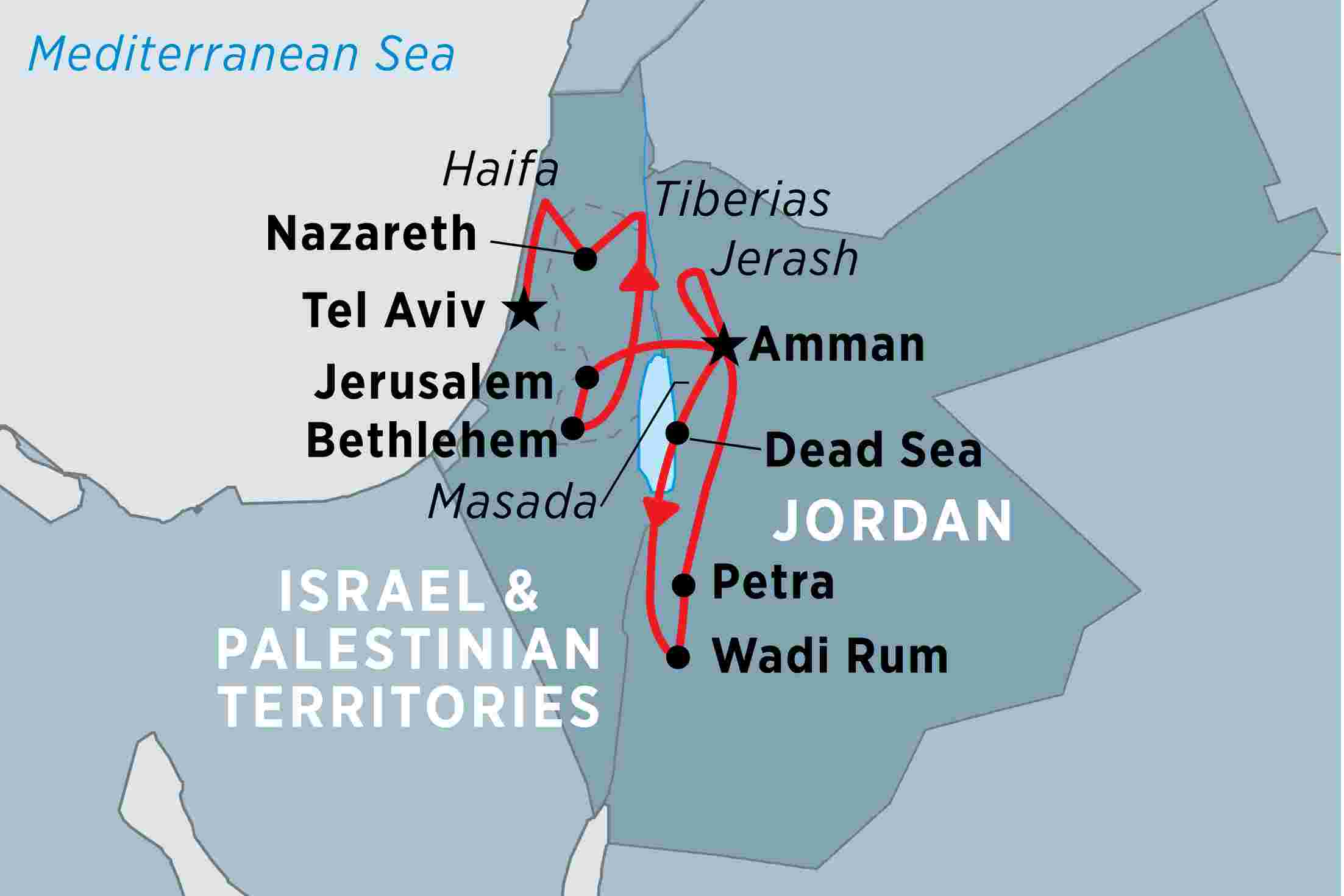 journey through a history of biblical proportions on this premium adventure  across jordan and israel