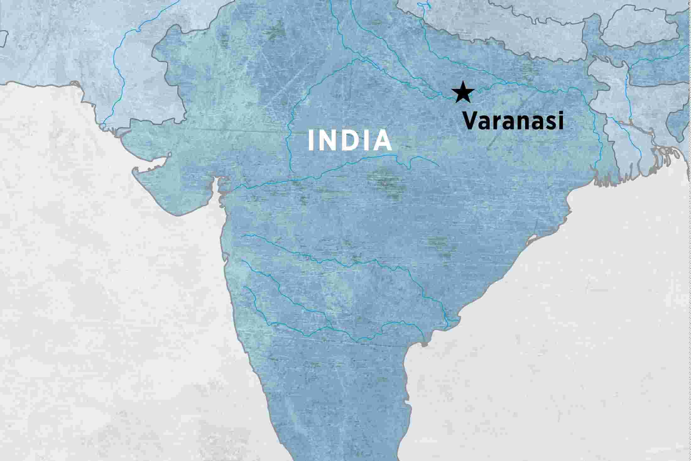 Varanasi Experience Independent Overview Varanasi Experience - Varanasi map