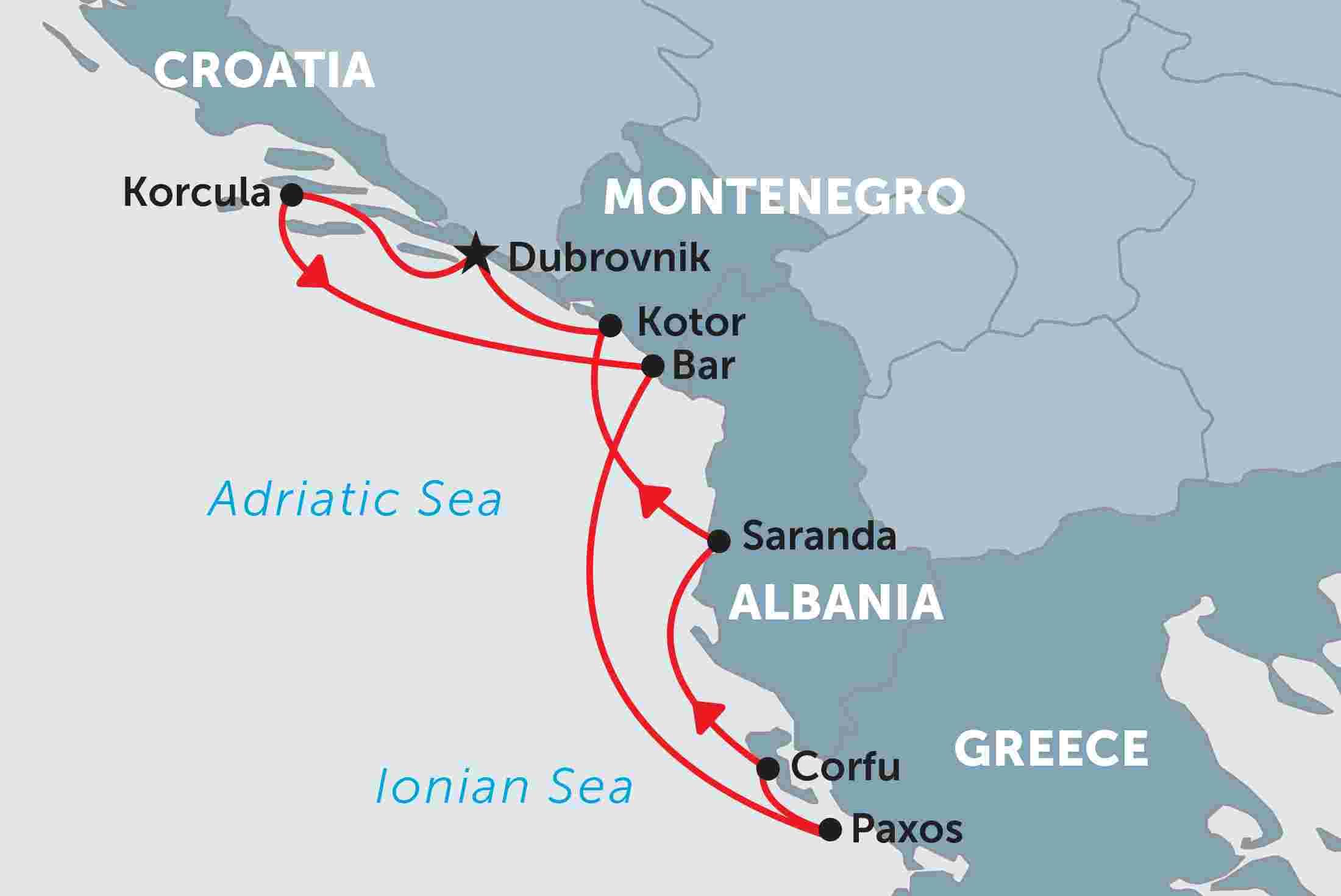 Adriatic Coastal Cruising overview Adriatic Coastal Cruising ENAU