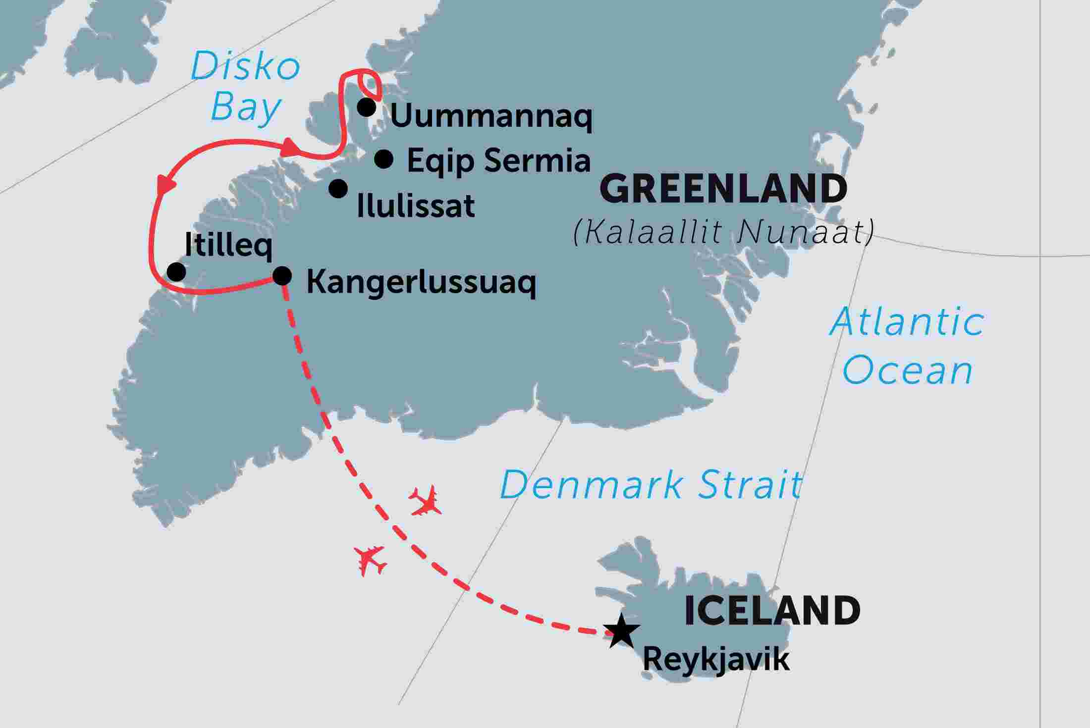 Greenland tours travel trips peregrine adventures greenlands disko bay gumiabroncs Images