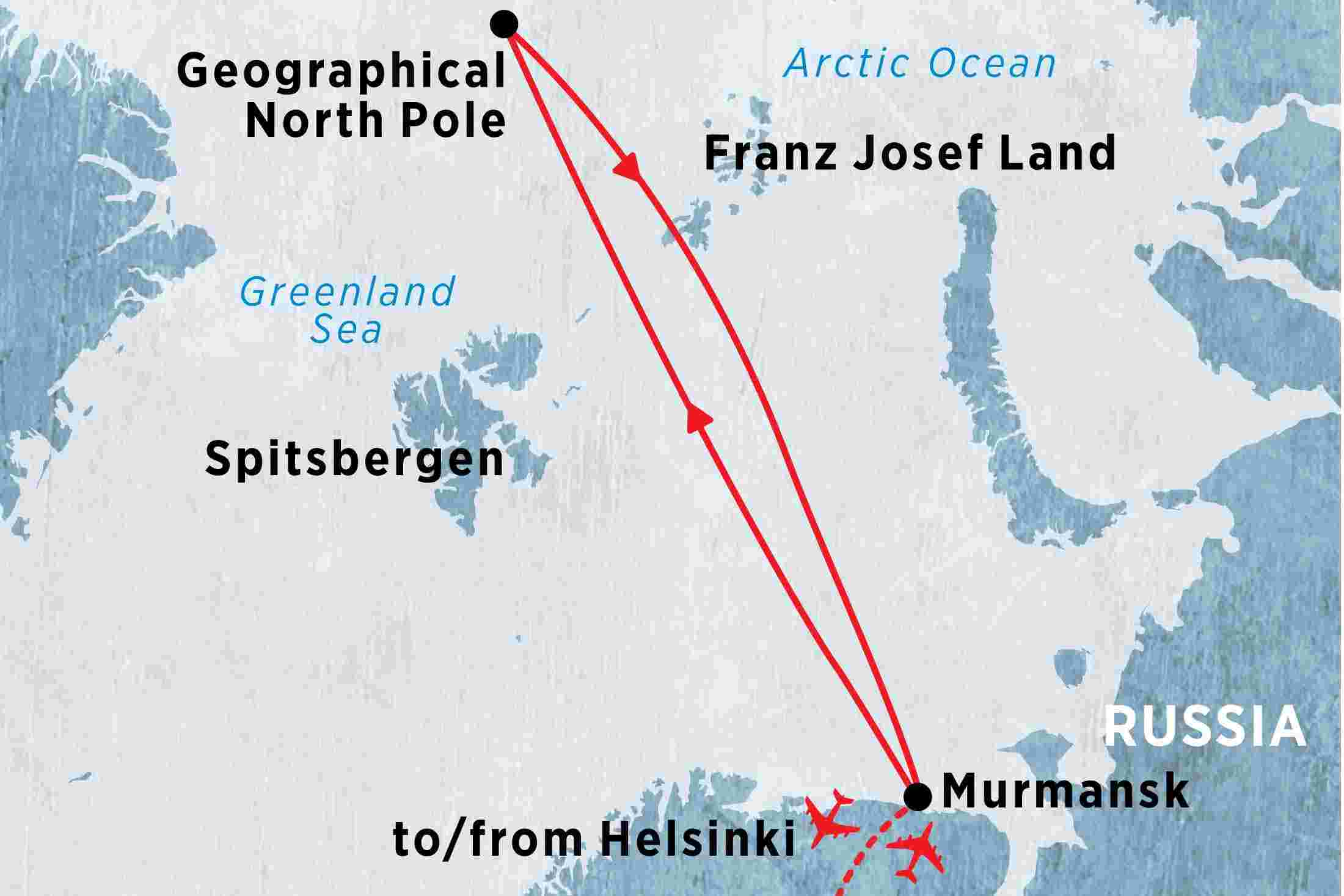 The north pole 50 years of victory overview the north pole 50 map of the north pole 50 years of victory including finland russian federation and gumiabroncs Image collections