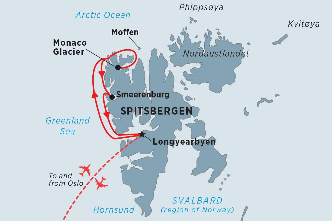 Spitsbergen Highlights overview | Spitsbergen Highlights