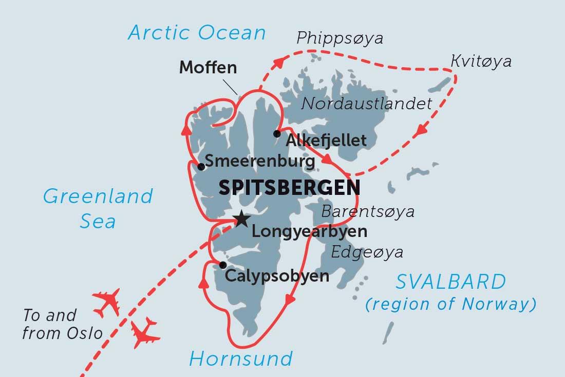Spitsbergen In Depth Overview Spitsbergen In Depth
