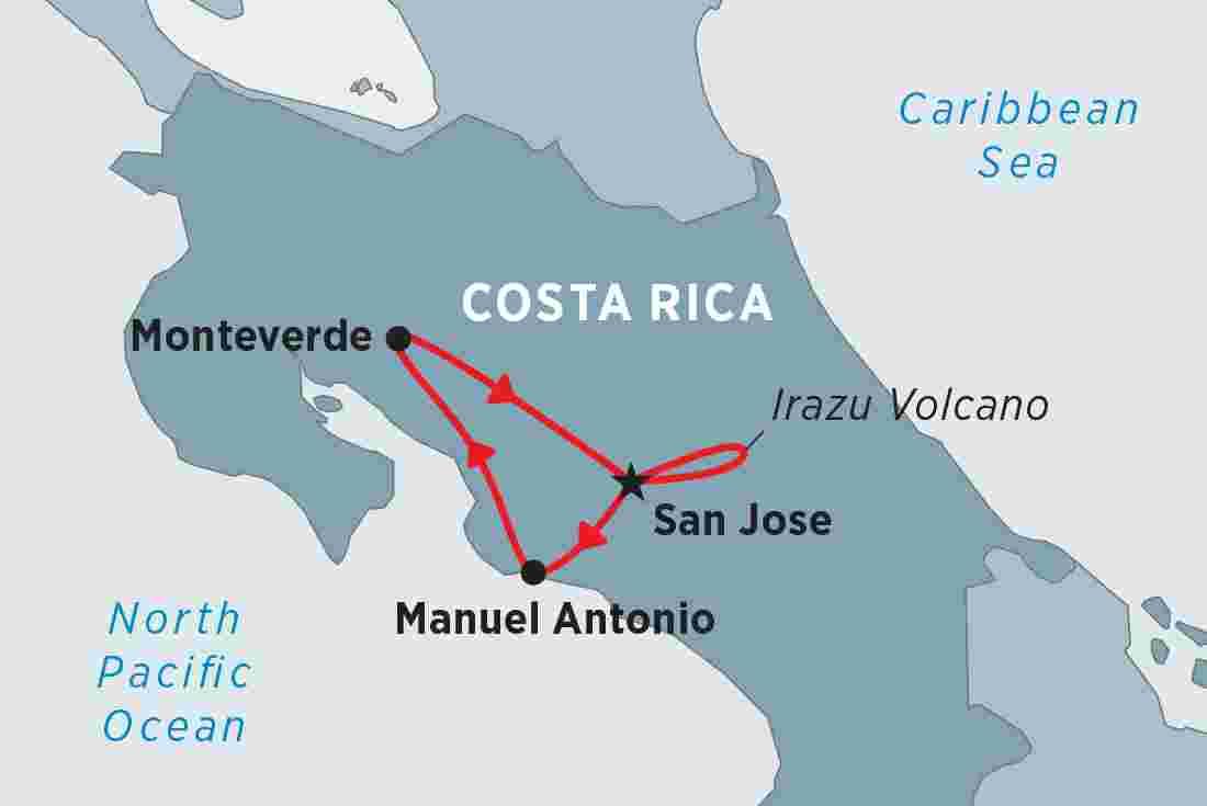 Costa Rica Highlights   Peregrine Adventures AU