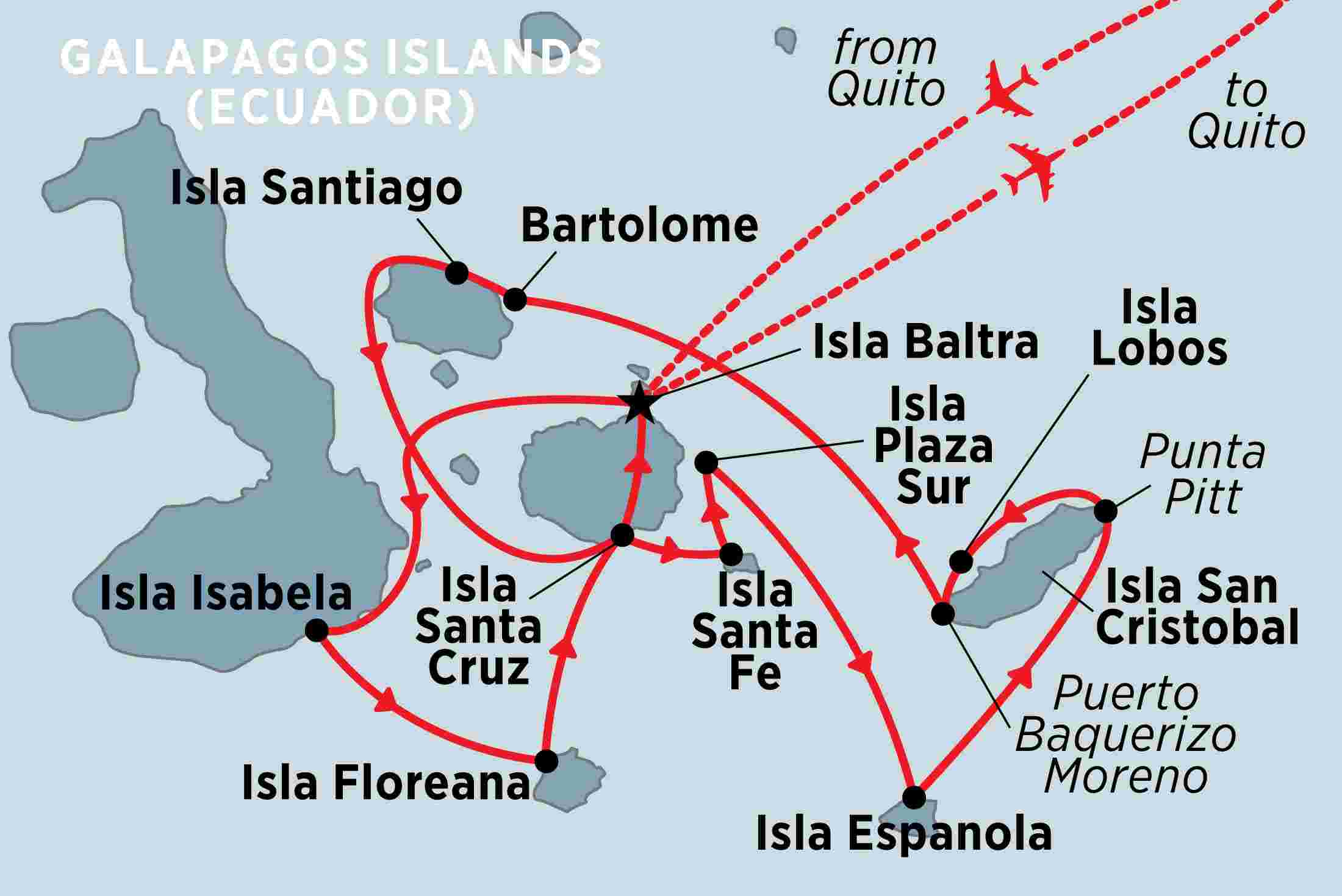 Treasures of the Galapagos: Western & Central Islands (Grand Queen on