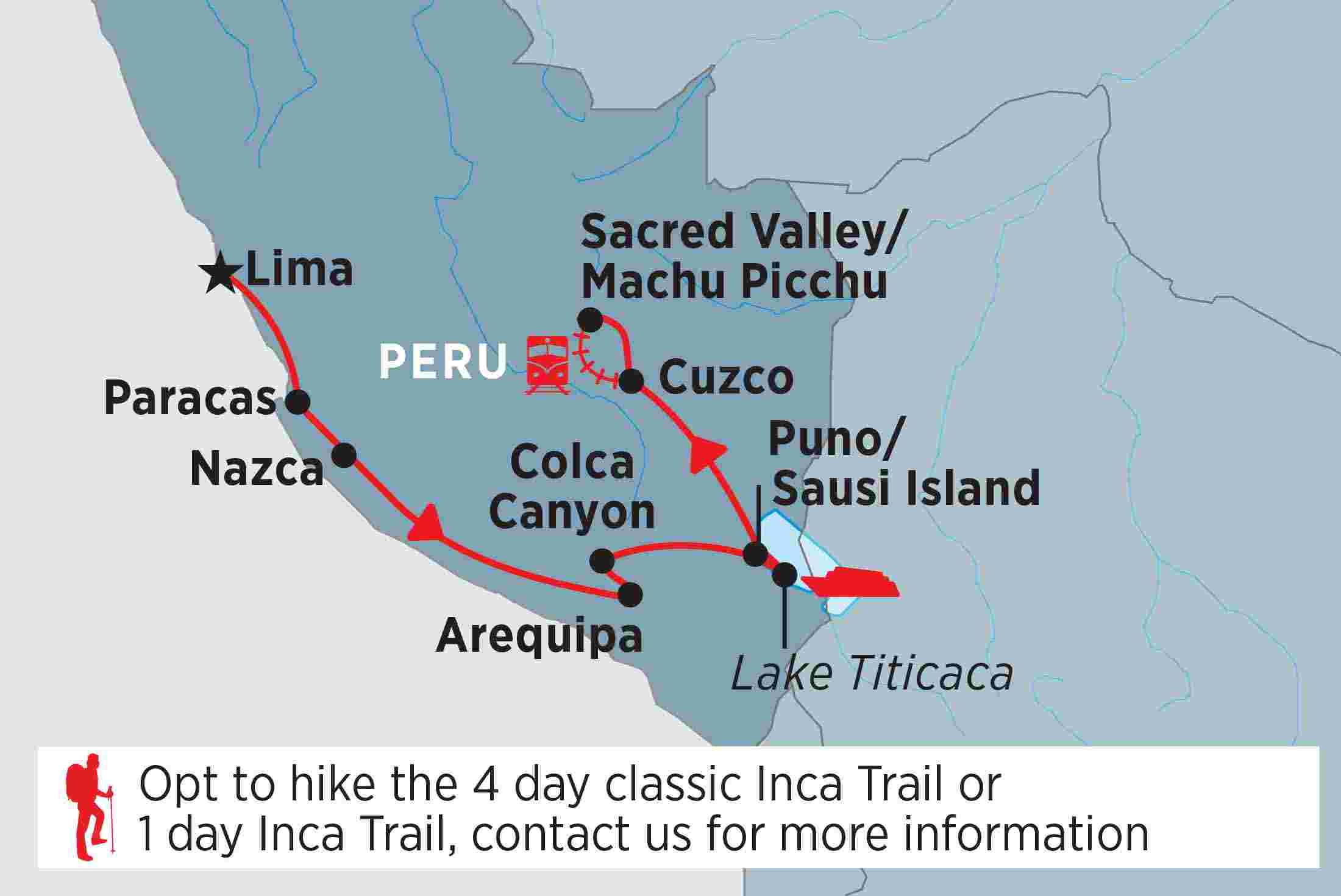 Lima to Cusco | Peregrine Adventures AU Cities Map Of Peru on