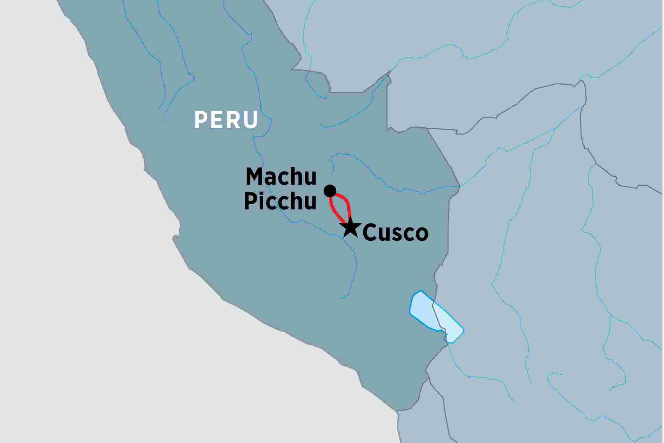 Peru Map Machu Picchu Machu Picchu Experience – Independent | Peregrine Adventures AU