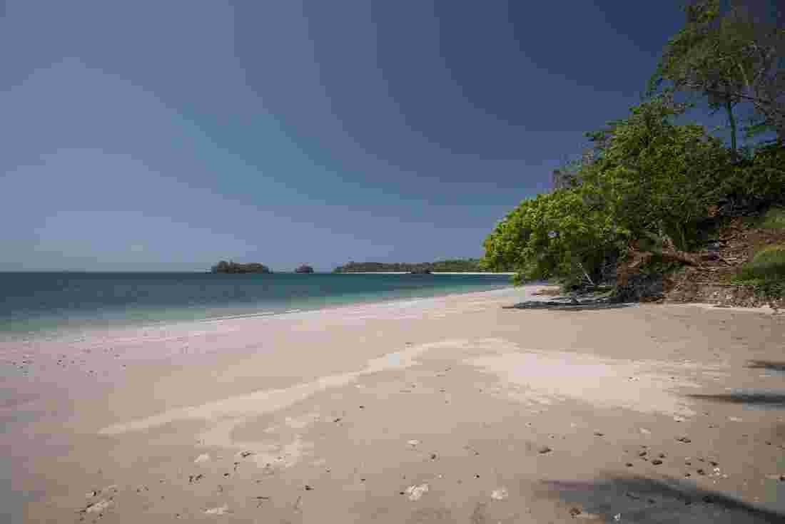 White Beach Of Pearl Islands